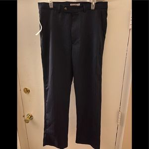 Kenneth Cole Blue/Red Pinstriped Pants